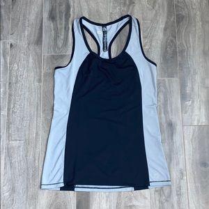 Women's racer back workout tank top